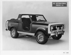 1980 Hurst Scout SS