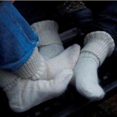 Jean's Socks free knitting pattern