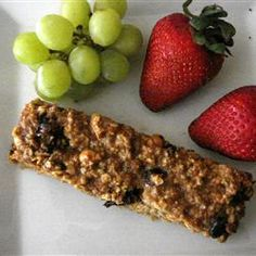 home-made granola bars--i almost never buy the pre-packaged anymore ...