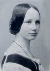 NOT Ada Lovelace! This is thought to be her daughter Anne, looking very demure. Same oval head and broad forehead.