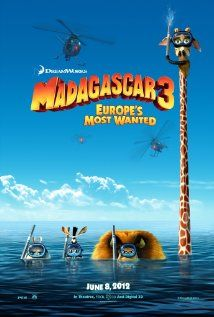 Madagascar 3: Alex, Marty, Gloria and Melman are still fighting to get home to their beloved Big Apple. Their journey takes them through Europe where they find the perfect cover: a traveling circus, which they reinvent - Madagascar style. In theaters June 8th.