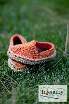 Canvas Shoes Crochet Pattern (Crochet Toms, Vans, Converse ...