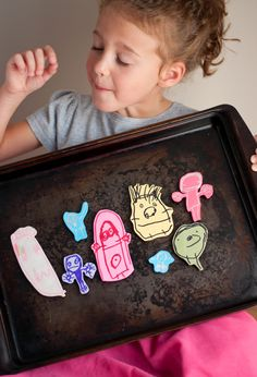 DIY Polymer Clay Magnet Image Transfer for Kids' Doodles