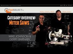 ToolSelect.com takes a look at the world of Miter Saws, Compund Miter Saws, Dual Bevel Miter Saws, Dual Bevel Compund Sliding Miter Saws. There are a lot of things to consider when shopping for a Miter Saw. This video helps you understand the options you see on the market and some things to consider when researching the right tool for the job.