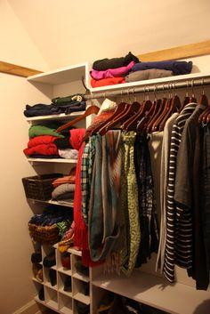 Great closet re-organization DIY