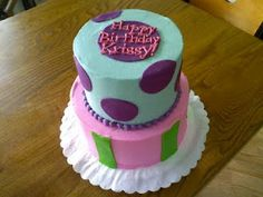 Very cute and very delicious birthday cake