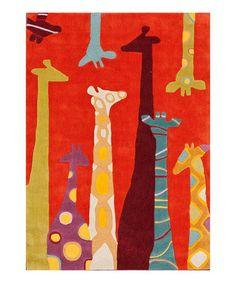 Tall Animal Rug #zulily #zulilyfinds