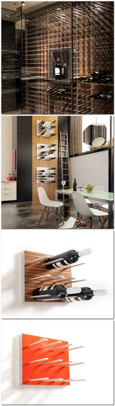 STACT Wine Wall by Eric Pfeiffer. STACT isn't a wine rack. #botellero