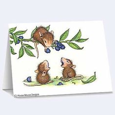"""""""8 Blank Cards/8 Envs"""", Stock #: N53B, from House-Mouse Designs®. This item was recently purchased off from our web site, www.house-mouse.com. Click on the image to see more information."""