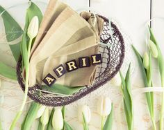April spring romantic photograph print shabby by GoldenSection, $30.00