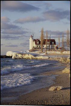 Point Betsie Lighthouse —Frankfort, Michigan #Midwest