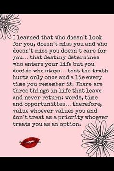 Things learned Truths Hurts, Quotes On A Love That Hurts, Menu, Thoughts Quotes, Quotes Destiny, Quotes On Priority, Mis...