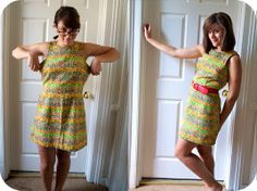 Sally Ann: How to tailor a dress with facing