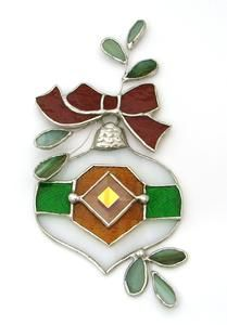 Free Stained Glass Ornament Project Guide from Delphi