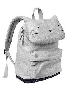 Kitty Cat Toddler Backpack