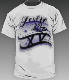 Airbrushed t shirts on pinterest for Custom t shirts and hats