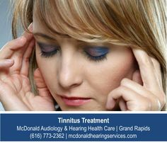 http://www.mcdonaldhearingservices.com/tinnitus-treatment.php – Tinnitus doesn't have to rule your life. There are new treatments and therapies shown to be very effective at reducing the constant ringing and buzzing. Ask how the tinnitus experts at McDonald Audiology & Hearing Health Care can help.
