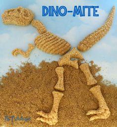 The Partiologist: Rice Krispie Dinosaur Bones!