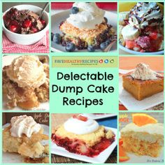 dump cakes, dump cake recipes