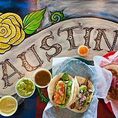KAH says: Austin restaurants. Every single one sounds delicious.