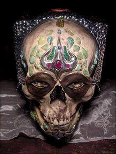 tibetan skull.
