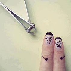 nail, funni, people art, finger art, paint, finger people, funny wallpapers, hair, fingerart