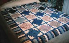 Aunt Bess Attic Quilt Top