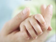A Mother's Touch.  #hands