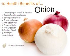 10 Health Benefits of Onion.