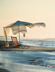 beach chairs, heaven, dream, ideal place