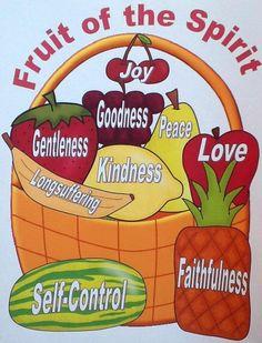 Bible Fun For Kids: Fruit of the Spirit