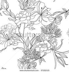 seamless pattern, pretti pattern