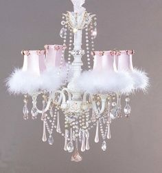 shabby chic decor, little girls, shabbi chic, chandeliers, pink, little girl rooms, princesses, princess room, shabby chic interiors