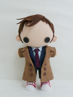 Doctor Who  Tenth Doctor Plushie by pepeluiv on Etsy