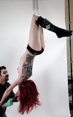 Body Modification -- Suspension. Bucket list!!! For real. I'd LOVE to do it