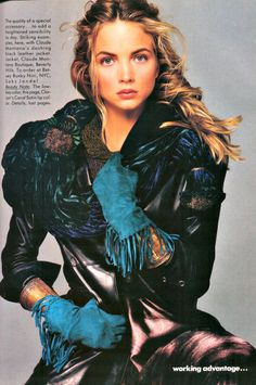 Rachel Williams US Vogue 1987