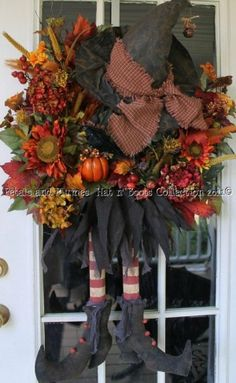 halloween wreath by jami