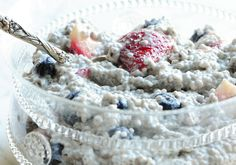 I am in love with chia pudding now.