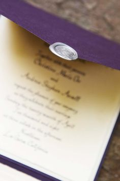 Harry Potter Theme Wedding: Invitations