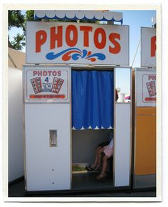 photo booth at the county fair