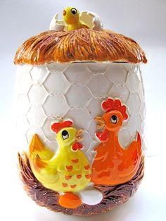 Chicken Coop Cookie Jar