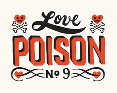 Love Poison 9 - Giclee Print