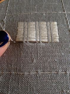 Darning Embroidery Sampler – Julie Zaichuk-Ryan 2013