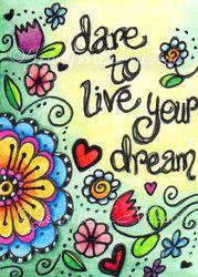 illustr text, dream, inspir doodl
