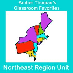 This unit on the Northeast region covers the natural resources, products, landmarks, landforms, and history of the region. It also has visual, kinesthetic, note-taking, writing, poetry, mapping, and dramatic activities. The test(s) included have answer keys. 69 pages, currently $9.99