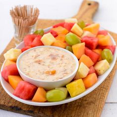 Apricot Dip for Fresh Fruit