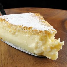 Magic 3 Layer 1 Batter Cake Recipe ~ 3 delectable layers from 1 simple batter - it's a kind of magic... Firmer crust, heavenly rich custard and angel food sponge - all from one batter. So delicious and so simple! Magical!