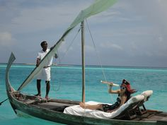 Feel Like Robinson Crusoe While Staying In An Overwater Villa In The Maldives >>> Yes please!