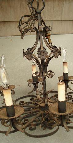 <3 rusty chandelier