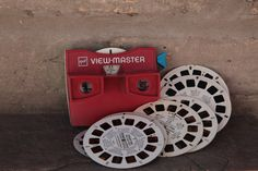 View Master / vintage viewmaster with slides / 1980s toy. $18.00, via Etsy.